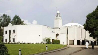 Photo de Cinq enfants maghrébins tués dans un accident de la route: Cérémonie religieuse à La Grande Mosquée de Lyon