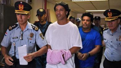 Photo de Ronaldinho libéré après plus de cinq mois de détention au Paraguay