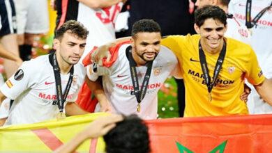 Photo de Yassine Bounou dans l'équipe-type de l'Europa League 2019-2020
