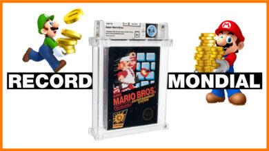 Photo de Une cartouche de «Super Mario Bros.» vendue 2 millions de dollars